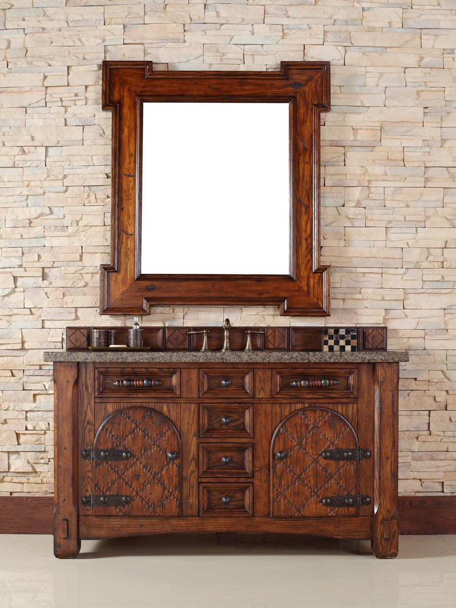 Shown with Tropical Brown Granite Top