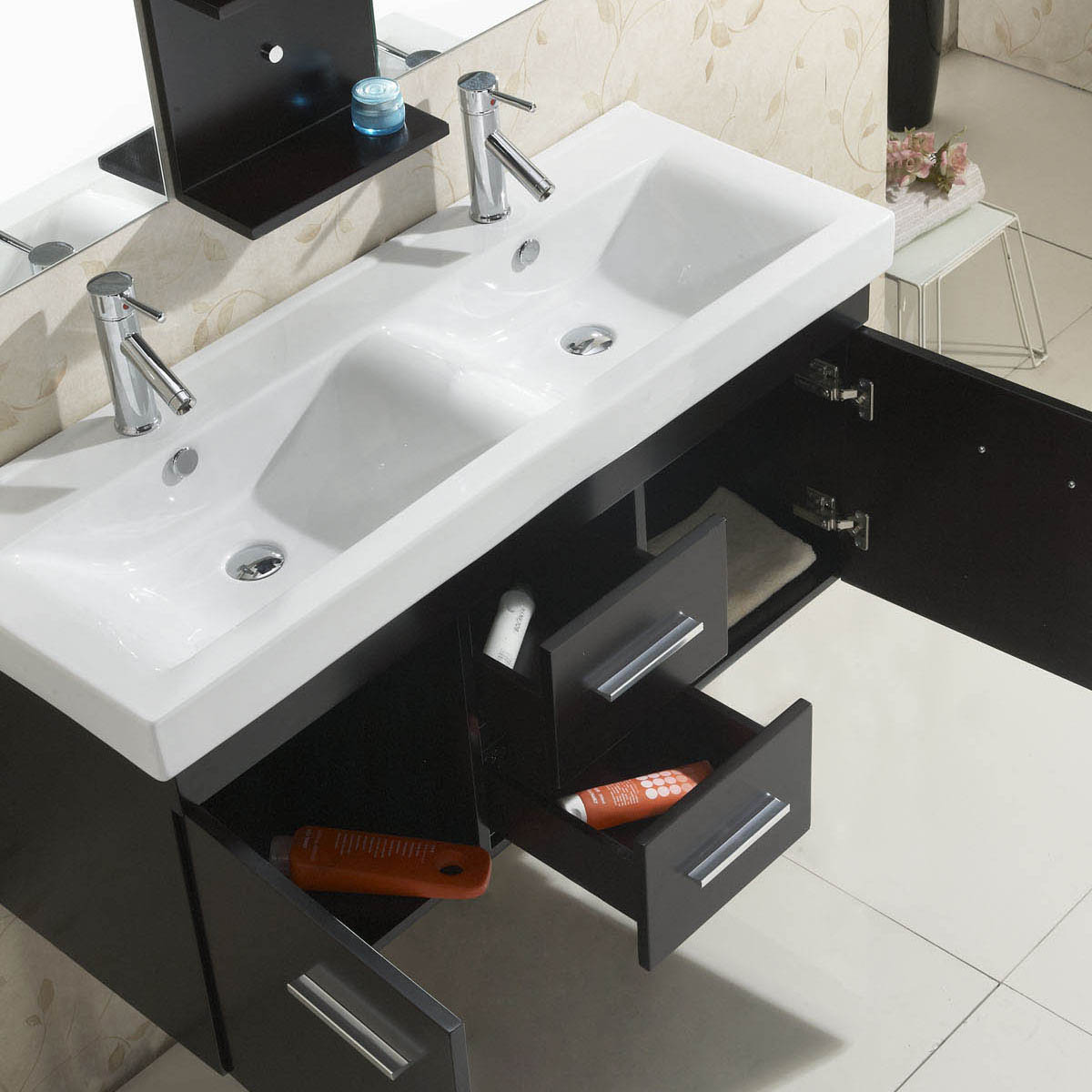 Integrated sink top