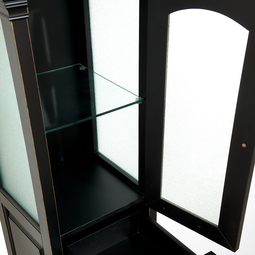 Glass Shelves and Glass Doors