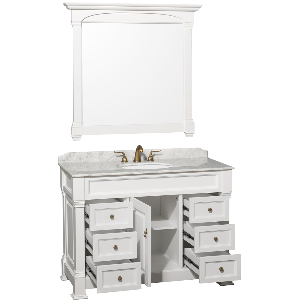 Single-Door Cabinet And Six Drawers