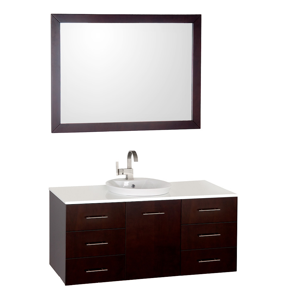 "48"" Arrano Single Vanity - with matching mirror"