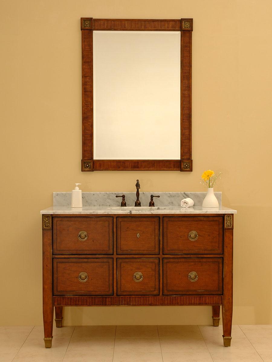 "48"" Blakely Manor Single Vanity - with optional mirror"