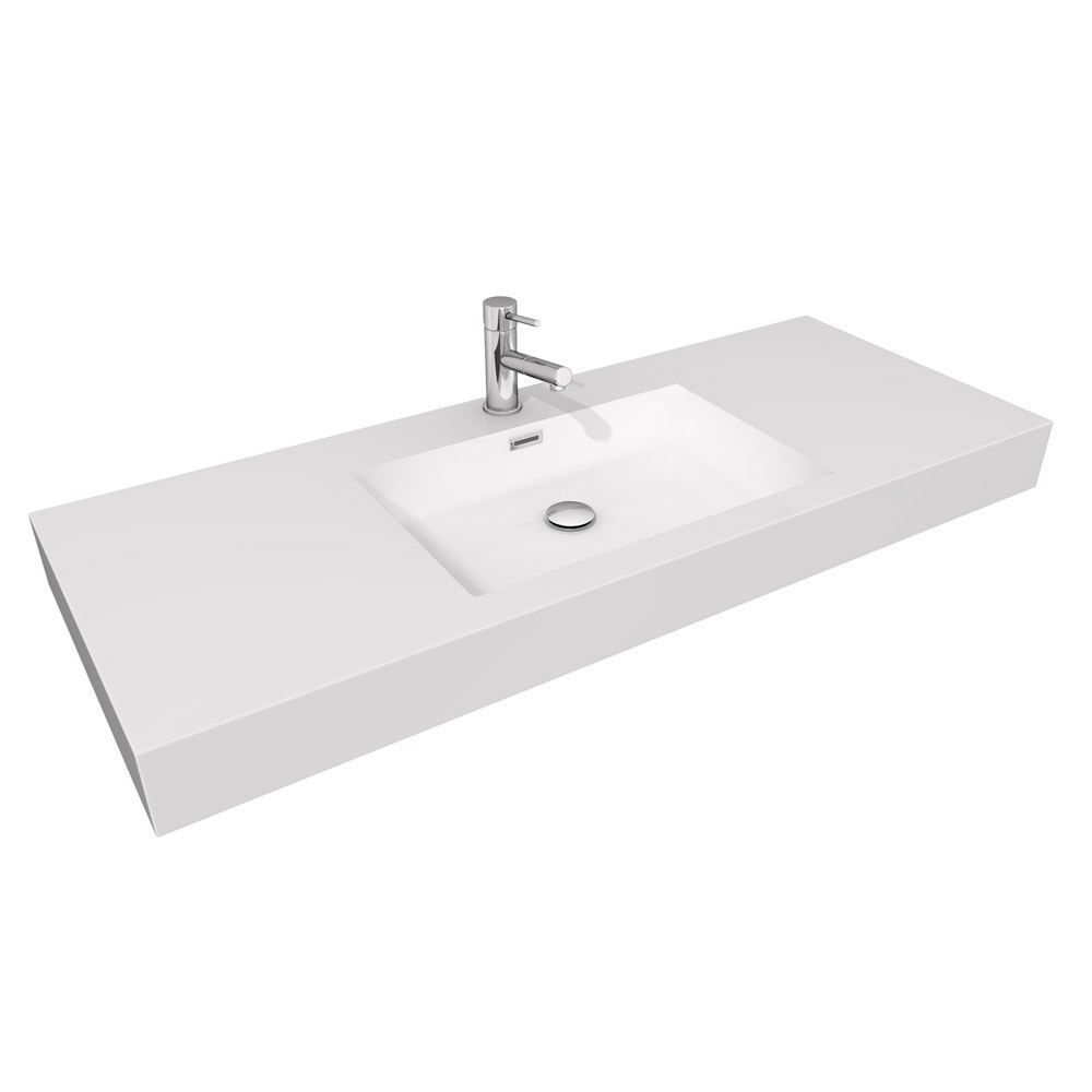Acrylic Resin Integrated Sink Top