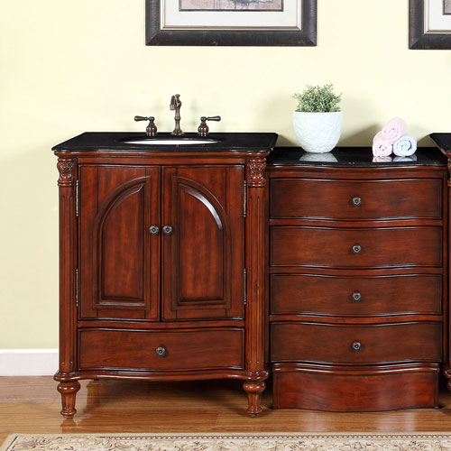 "30"" Claudius Single Bath Vanity - with optional drawer bank"