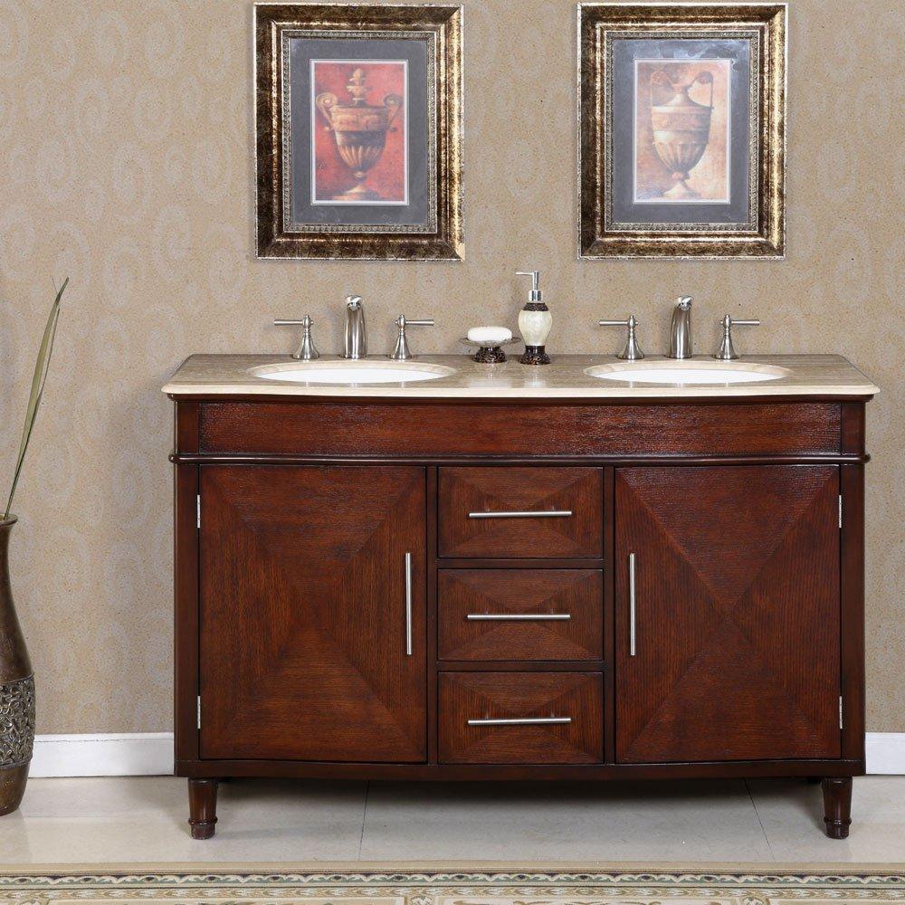"55"" Bertali Double Bath Vanity"