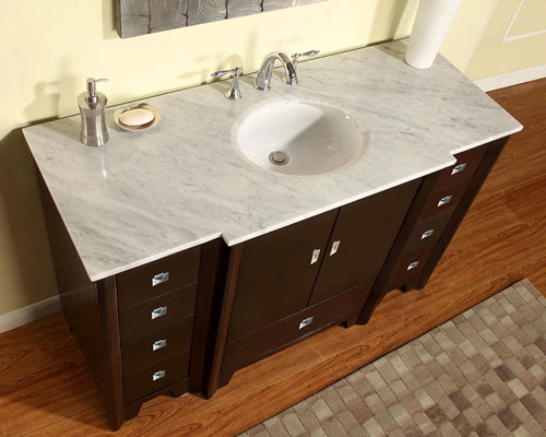 "55"" Galos Double Sink Vanity"