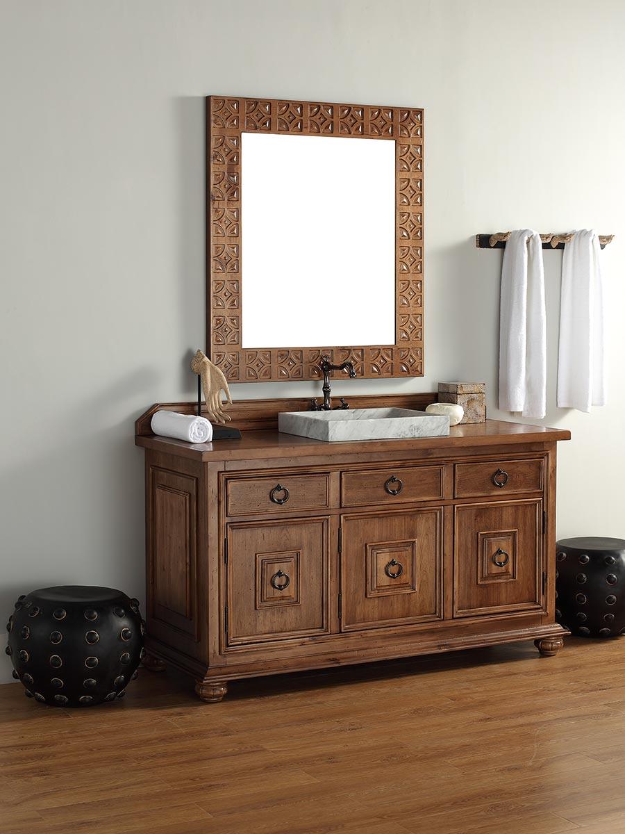 Wood Vanity Top Wood Top Bathroom Vanity Reclaimed Wood