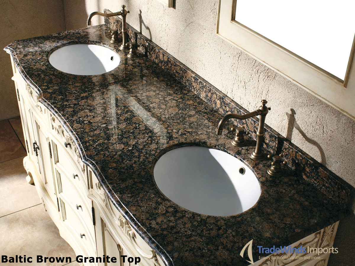 Tropical Brown Granite top