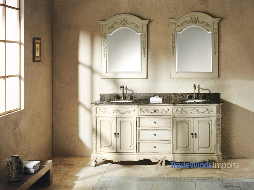 "72"" Cansano Double Vanity with matching mirrors"