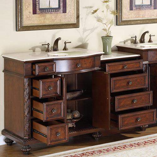 "Kitchen Cabinets Santa Ana: 36"" To 55.5"" Favara Single Bath Vanity"