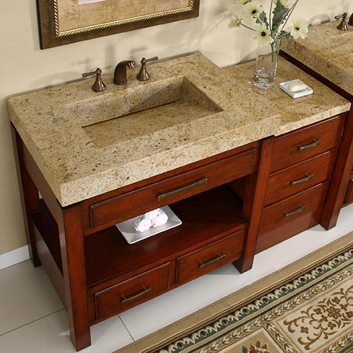 Optional Drawer Bank with Matching Counter Top