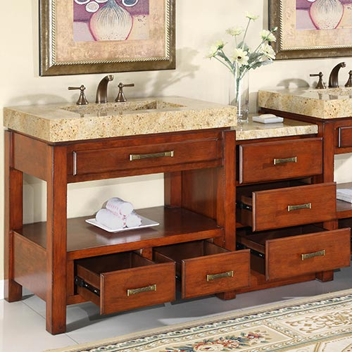 Optional Drawer Bank with three drawers