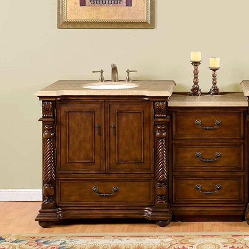 """36"""" Kostas Single Vanity with optional drawer bank"""