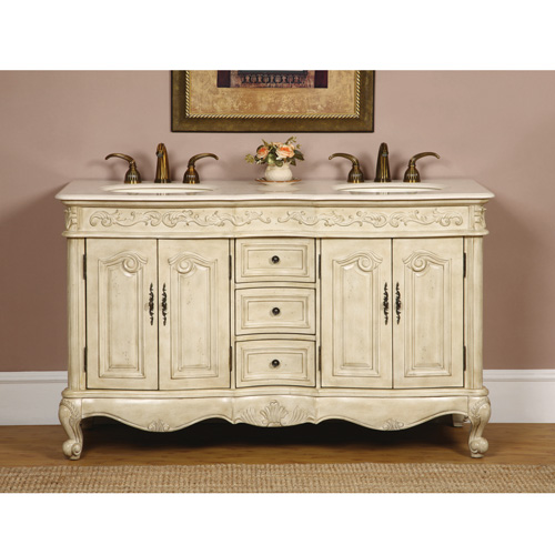 "58"" Petriano Double Bath Vanity"