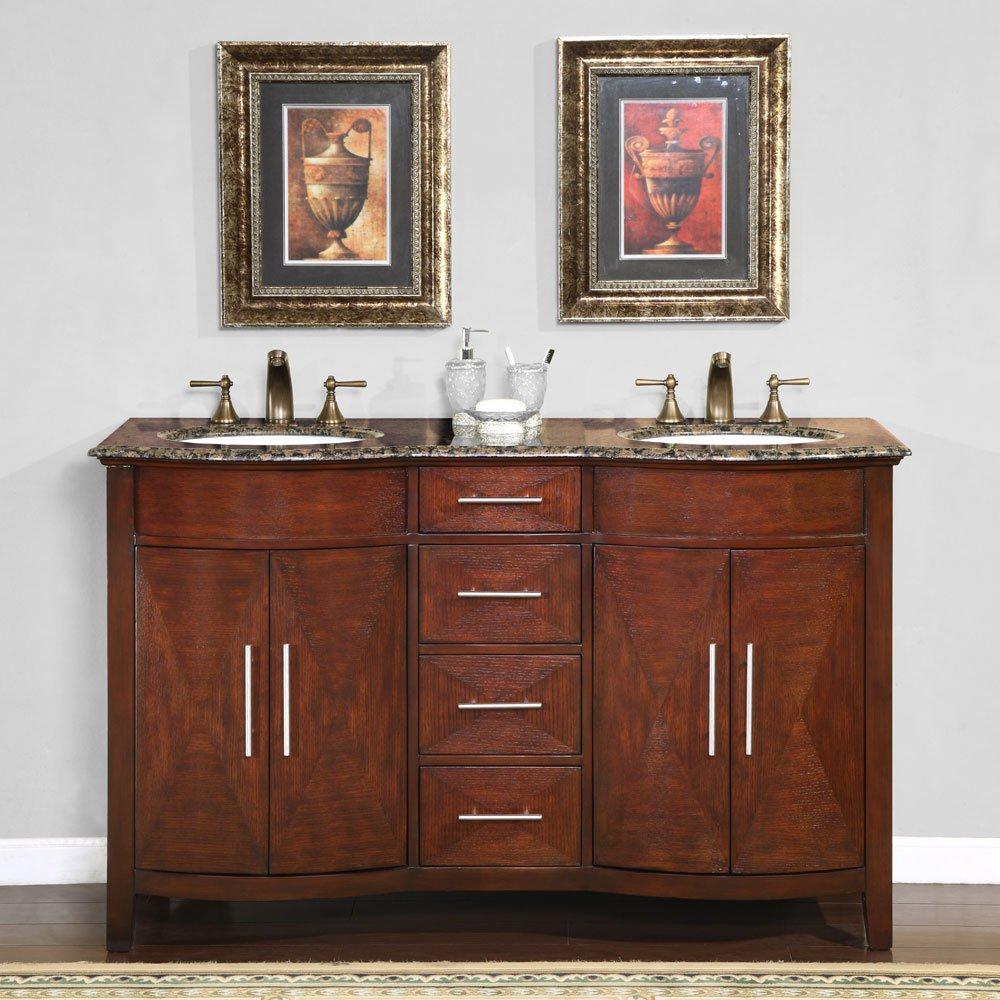"58"" Alfano Double Bath Vanity"