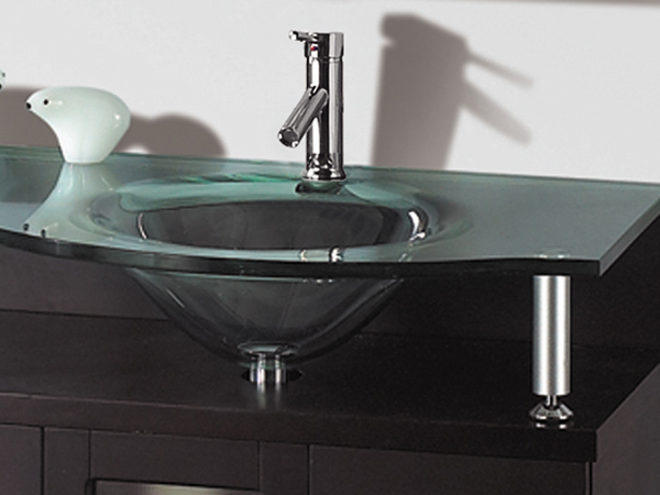 Tempered Glass Top and Sink