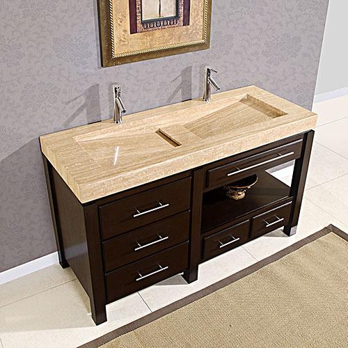"60"" Gavius Double Sink Vanity"