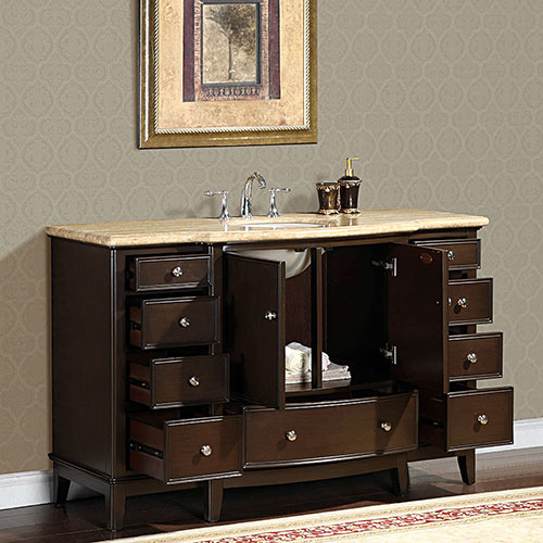 Nine Drawers and Double-Door Cabinets