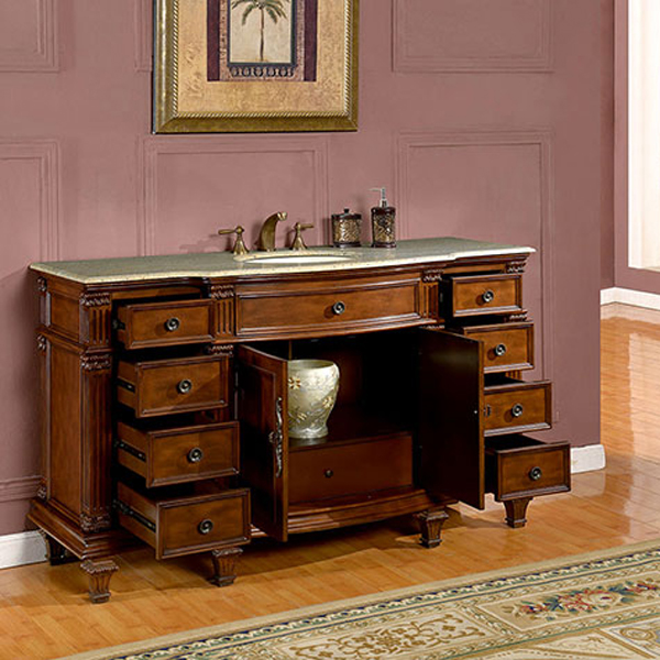 Nine Drawers And Double-Door Cabinet