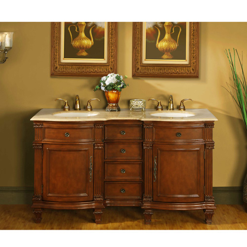 "60"" Ficarra Double Bath Vanity"