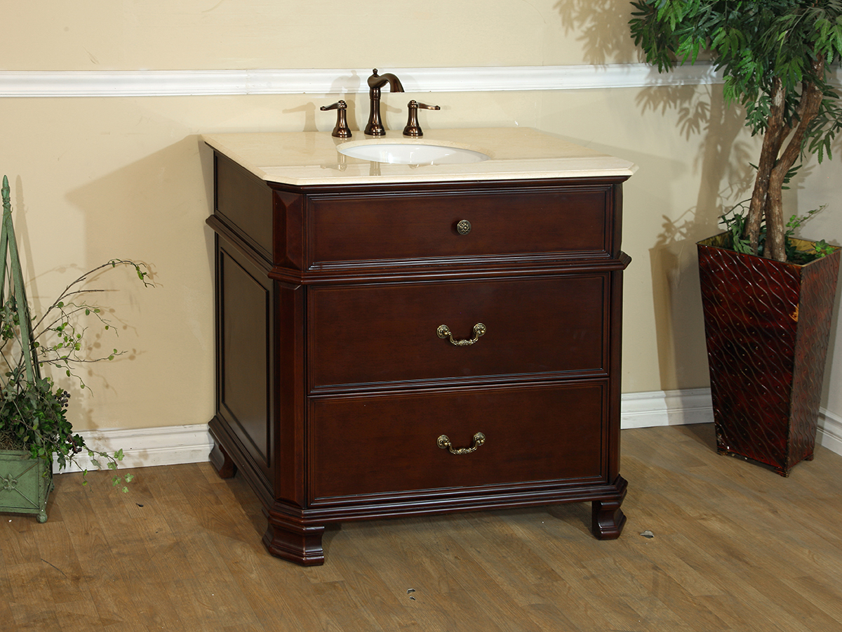 "38"" Waren Single Bath Vanity"