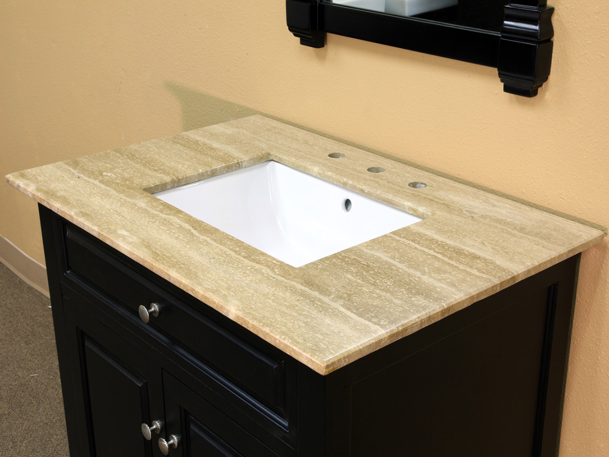 Travertine Top