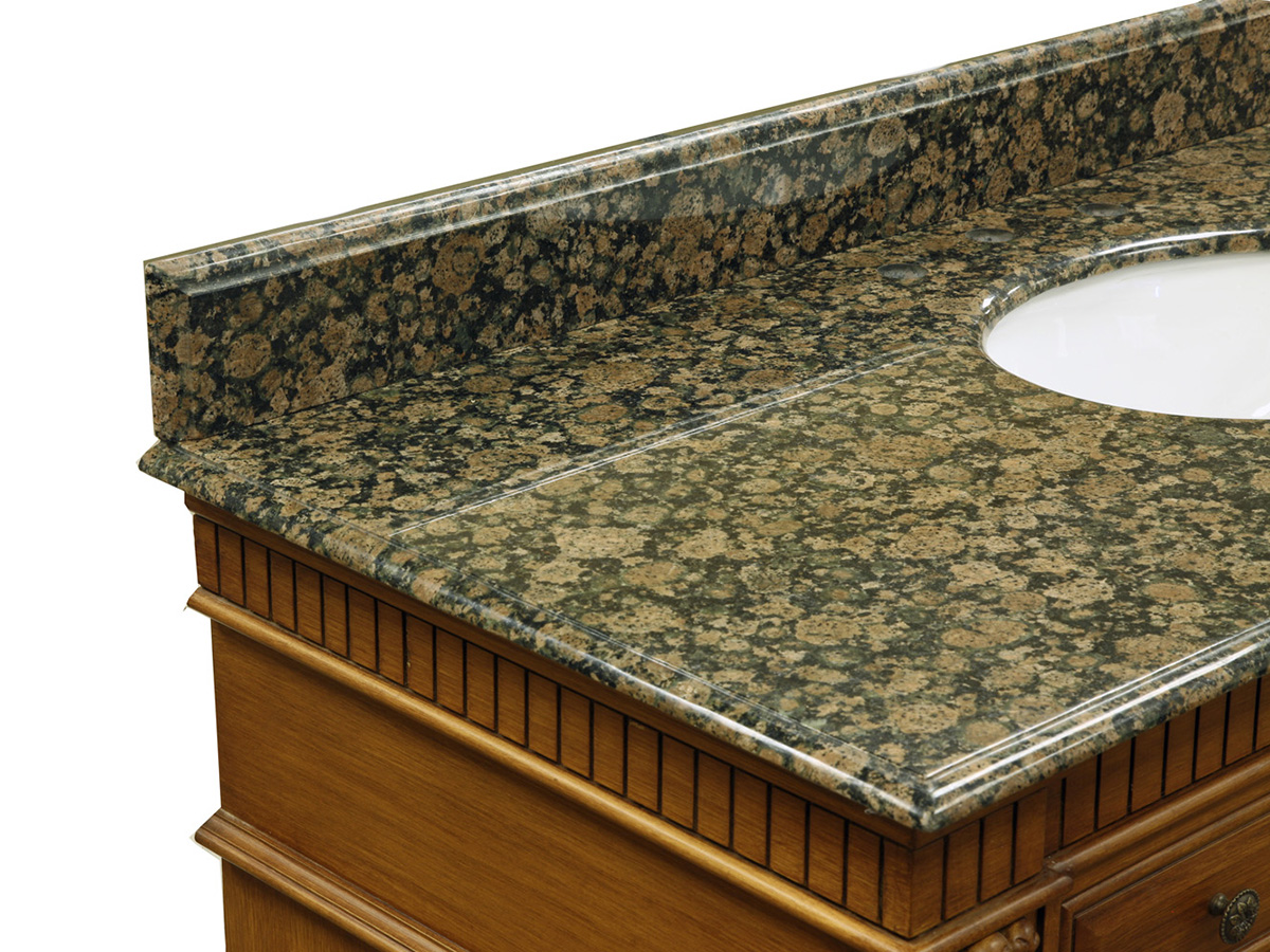 Baltic Brown Marble Top