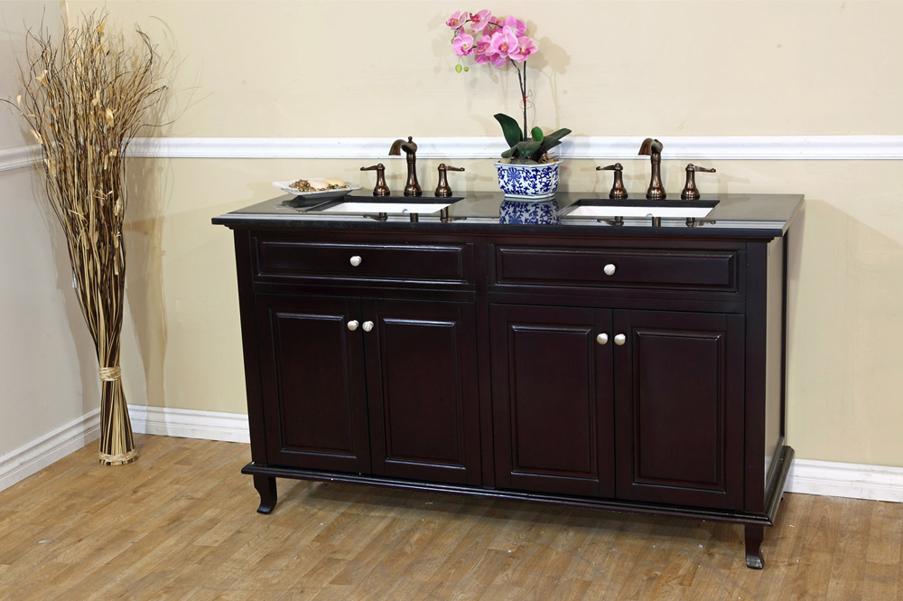 "62"" Guilarte Double Vanity (faucets not included)"
