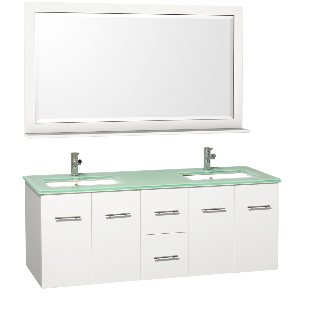 Shown With Green Glass Top