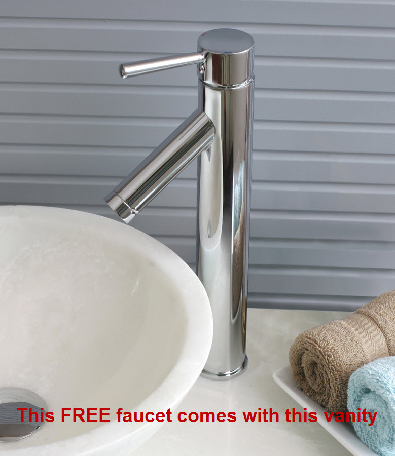 Includes free faucets