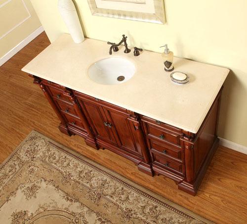 "62"" Lucretius Single Bath Vanity"