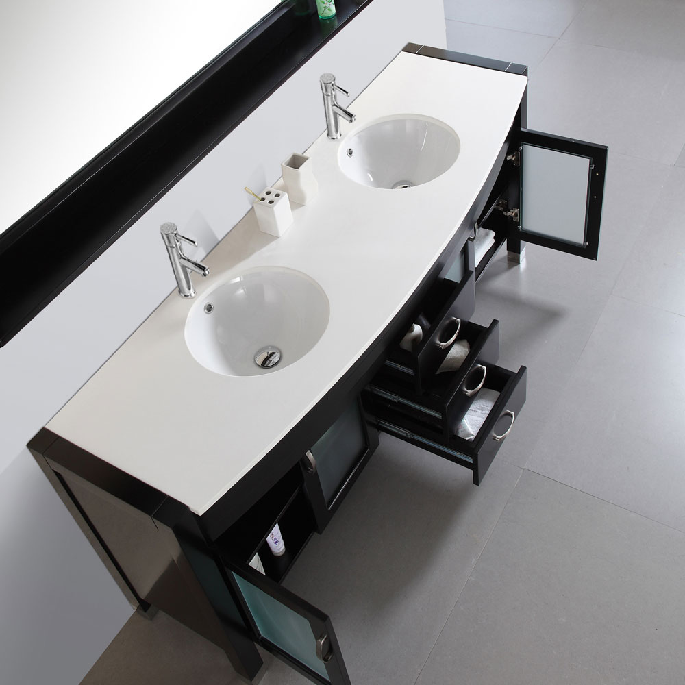 Integrated Artificial Stone Top and Sink