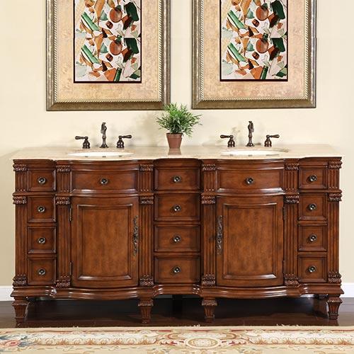 "72"" Ficarra Double Bath Vanity"