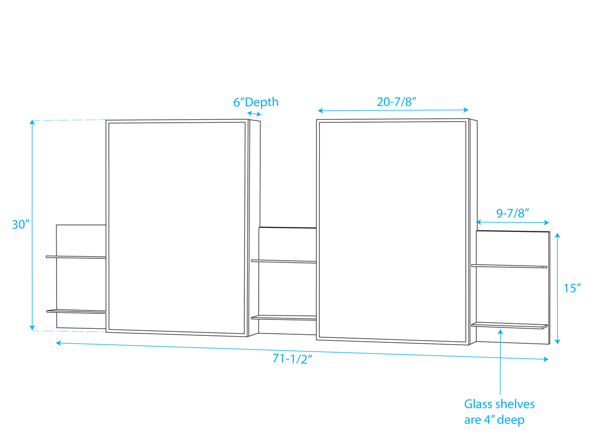 Medicine Cabinet - Dimensions