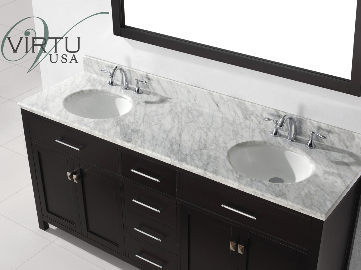 Rounded sinks