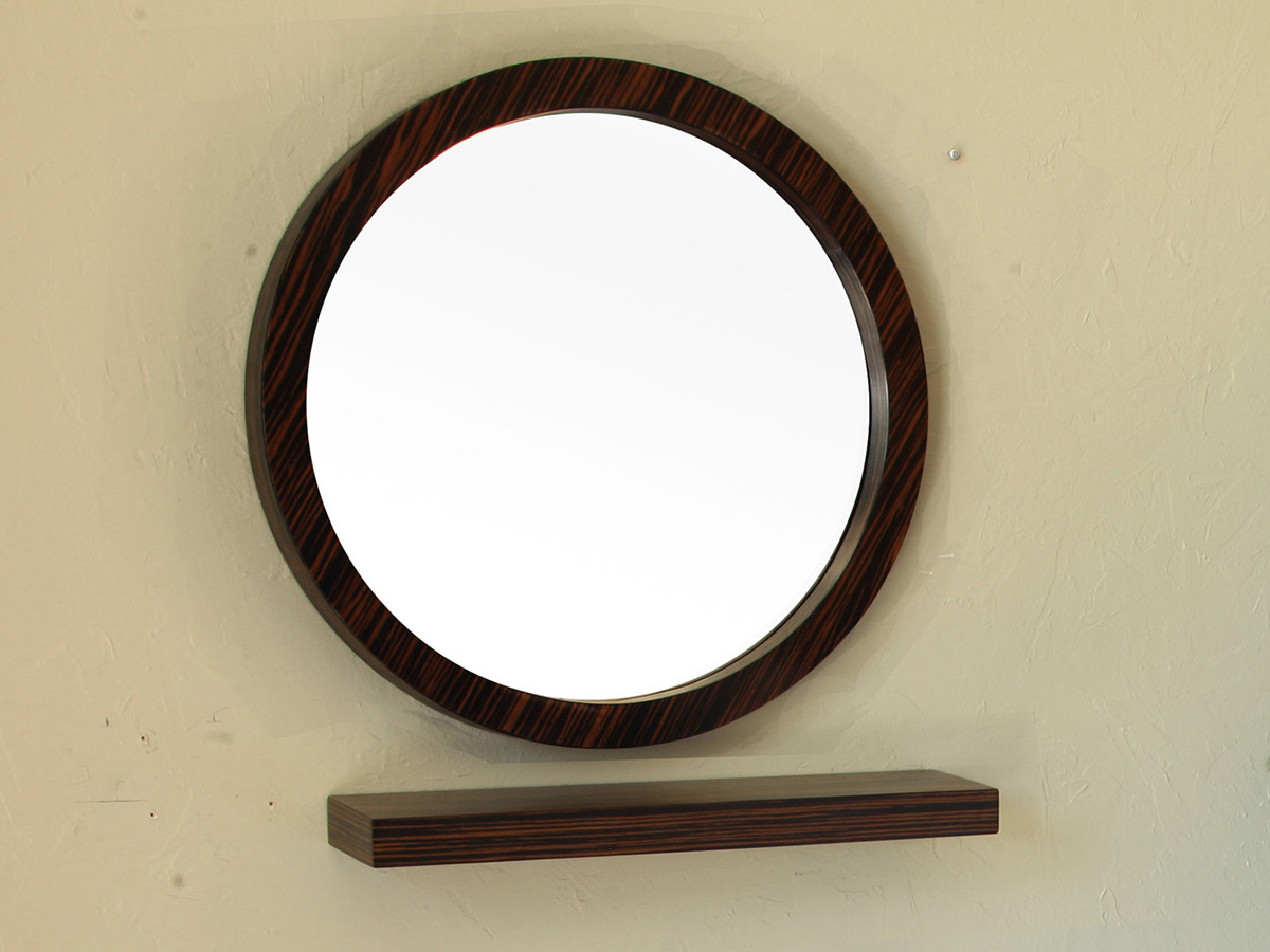 Matching Mirror And Shelf