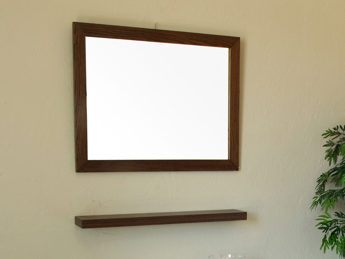 Optional Mirror And Shelf