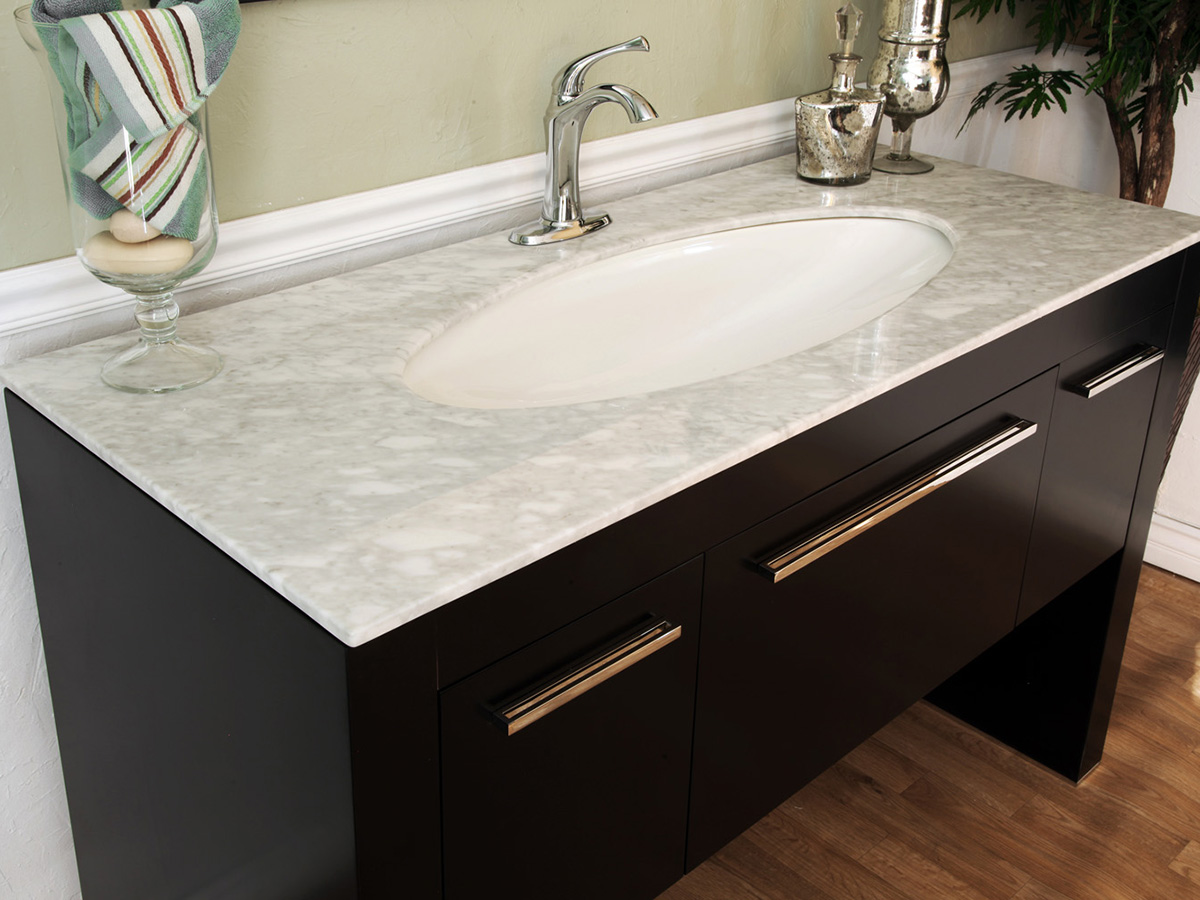 White Marble Top