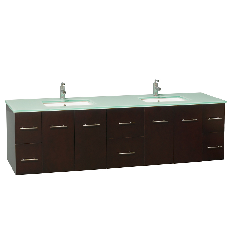 80 inch double sink bathroom vanity 80 quot zentra sink vanity espresso bathgems 24810
