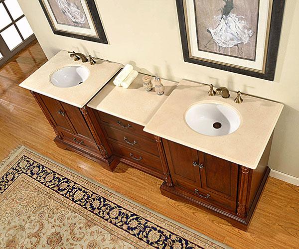 "87"" Mellis Double Sink Vanity"