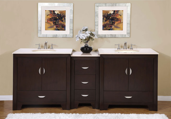 "90"" Baris Double Sink Vanity"