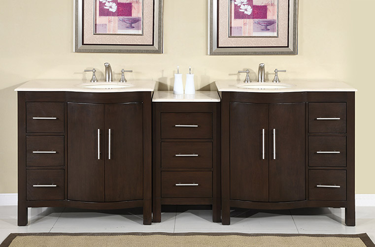 "89"" Avola Double Sink Vanity"