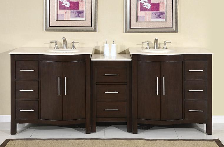 "89"" Avola Double Sink Vanity"