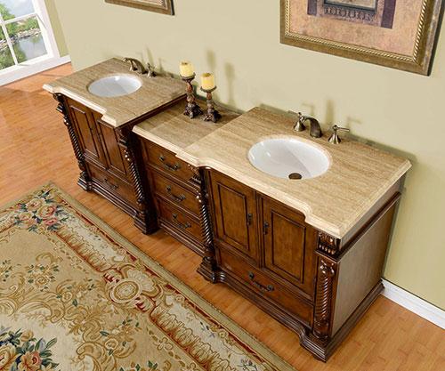 """91.5"""" Kostas Double Sink Vanity"""