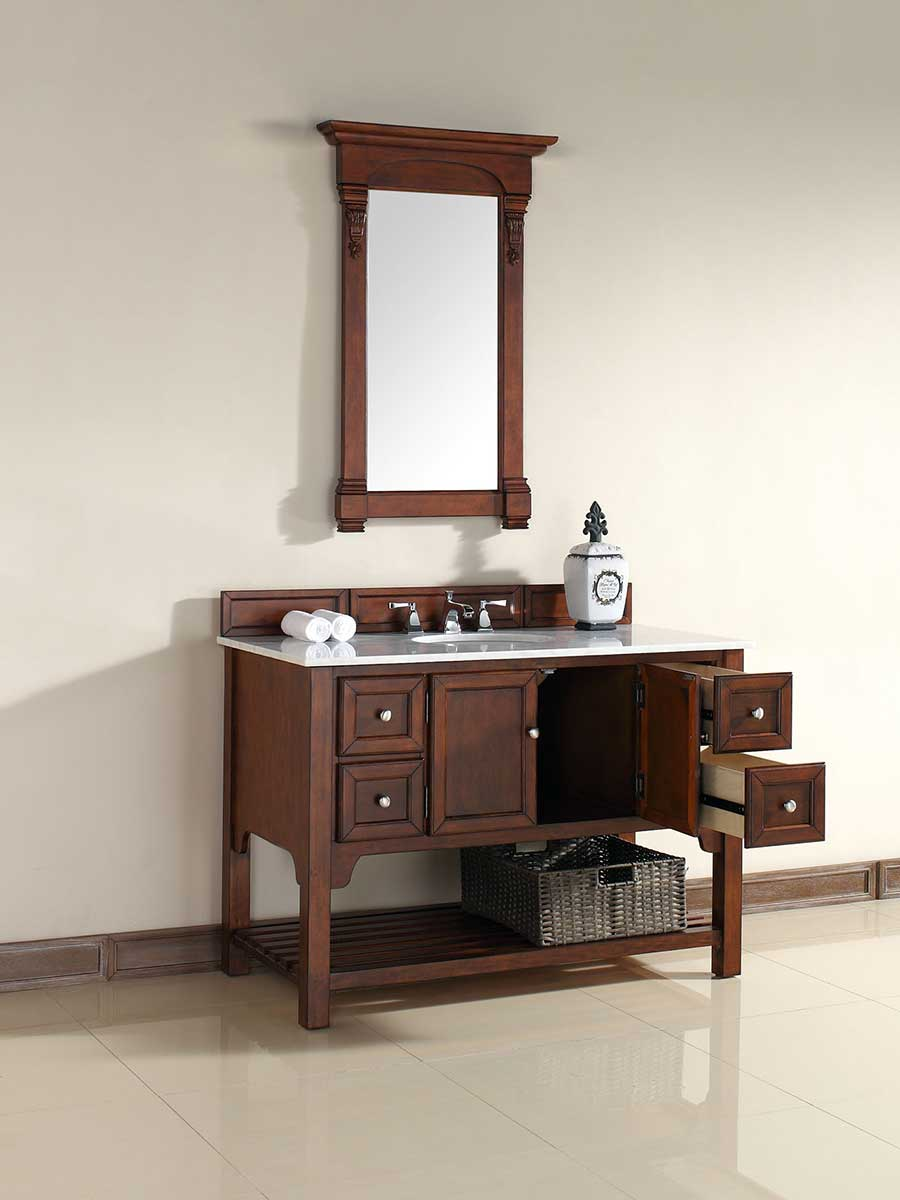 "48"" South Hampton Single Bath Vanity - Warm Cherry"