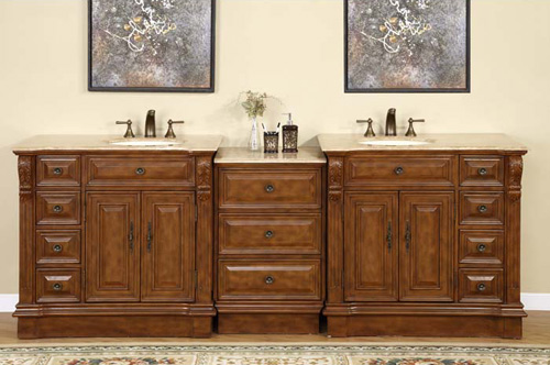 "95"" Soprana Double Bath Vanity"