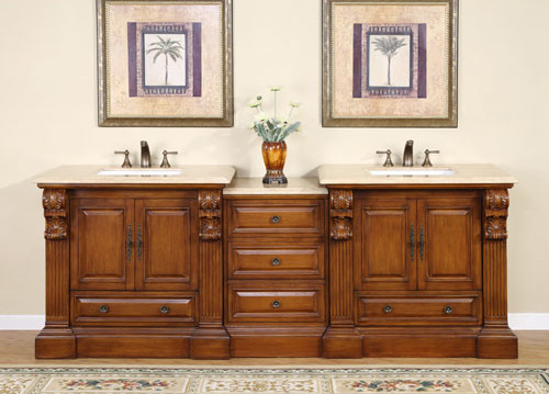 "95"" Kalivas Double Sink Vanity"