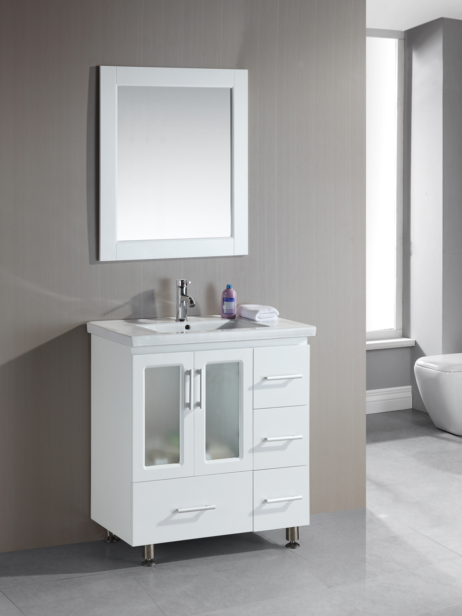 "36"" Stanton Single Bath Vanity in White"