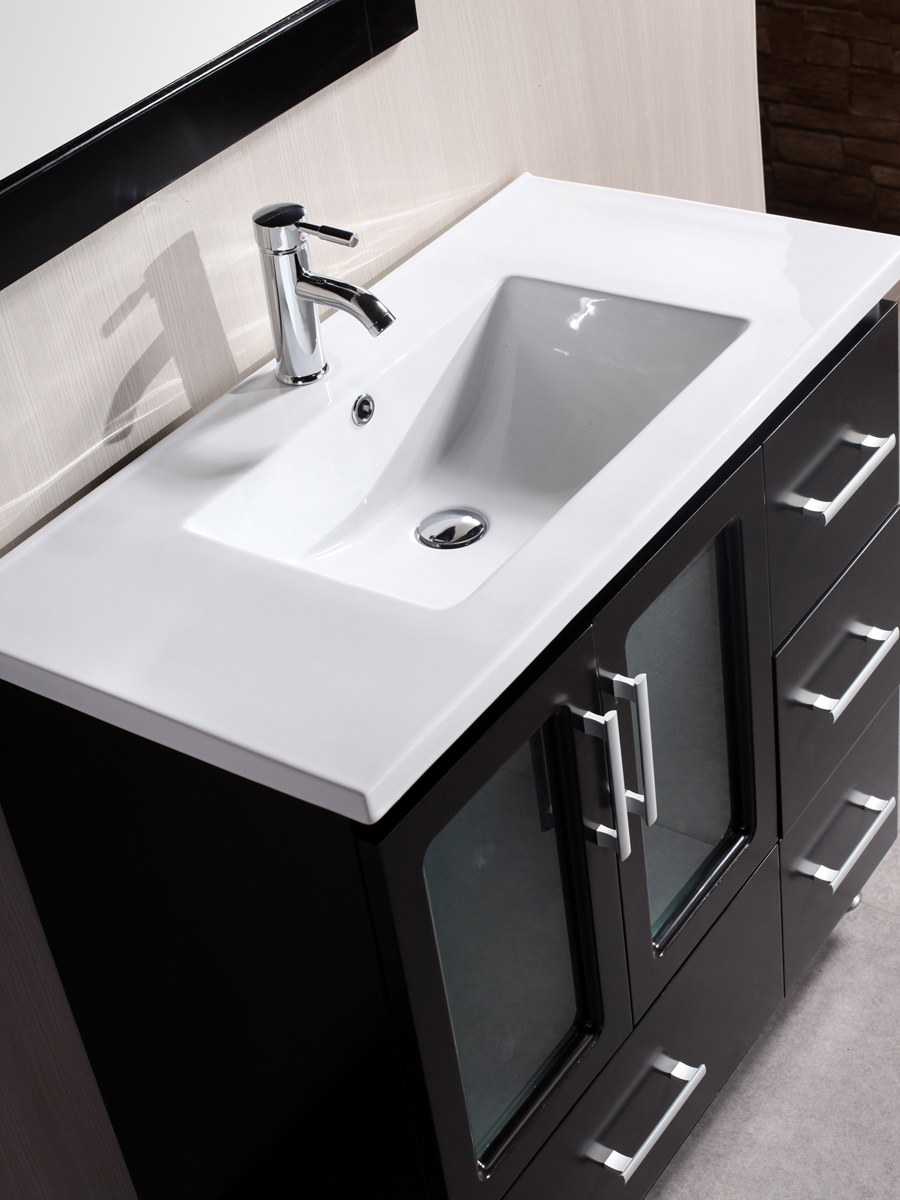 Porcelain Integrated Sink Top