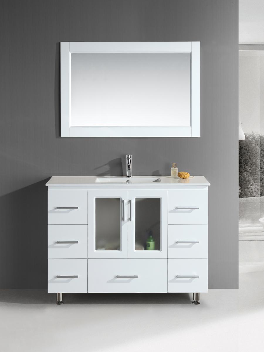 "48"" Stanton Single Bath Vanity in White"